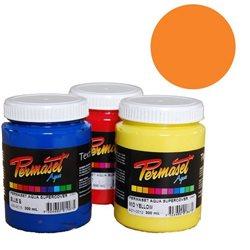 Краска для шелкографической печати s/c Permaset / Оранжево-красный покрывной