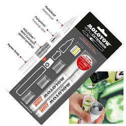 Набор Molotow Extension 211EM Starter Kit (пустые маркеры, наконечники)