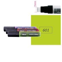 Зеленый анисовый. Акриловый маркер DARWI Acryl Opak 15мм