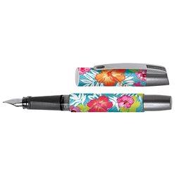 Перьевая ручка Campus II Tropical Flower, перо М, для девочек
