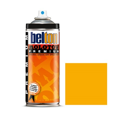 Аэрозоль Belton Molotow Premium 010 Желтая дыня 400 мл