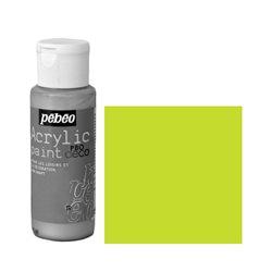 Краска декоративная акрил. Pebeo PBO DECO/ Зеленый неоновый