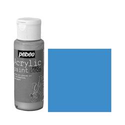 Краска декоративная акрил. Pebeo PBO DECO/ Синий космос неоновый