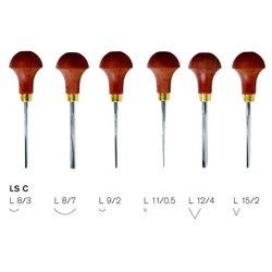 Набор штихелей для линогравюры Pfeil LS С - 6шт