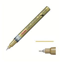 Маркер перманентный Paint золотой 0.6 мм алюмин. корпус