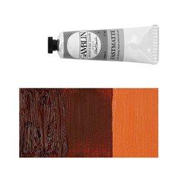 Алкидно-масляная краска Gamblin FM Прозрачная красная земля, матовая, быстросохнущая
