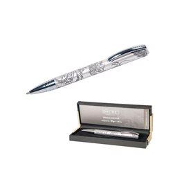 Ручка-роллер Dragon Spirit серебро, 0.7 мм/ подарочная упаковка
