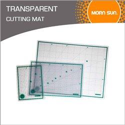 Коврик для резки самовоccтан./ прозрачный многослойн. 3 мм, 45х60 см