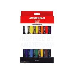 """Набор акриловых красок """"Amsterdam Standart"""" / 12x20 мл в карт."""