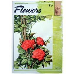Цветы (на анг. яз.) Flowers LC 20