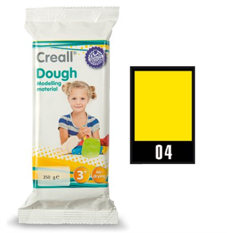 Масса самоотверждаемая Creall Dough Havo/ Желтая 350 гр