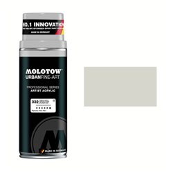 Краска URBAN FINE-ART SPRAY Серый светлый нейтральный 332, 400 мл