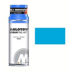 Краска FINE-ART SPRAY флуоресцентная Синий 404, 400 мл