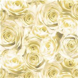 """Бумага для Scrapbooking, калька, 30,5х30,5см, 5 листов, """"Розы"""", Шампань"""
