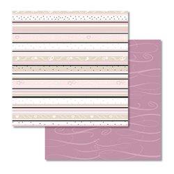 Картон с глиттером для Scrapbooking, 30,5х30,5см, 190г/м, Мотив 33
