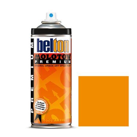 Аэрозоль Belton Molotow Premium 011 Желто-оранжевый 400 мл