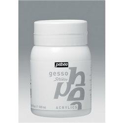 Акриловый грунт GESSO Studio Pebeo универсальный /500 мл.