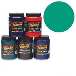 Краска для шелкографической печати Permaset / Зелено-синий