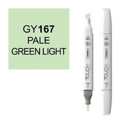 Маркер TOUCH BRUSH 167 бледный светло-зеленый GY167