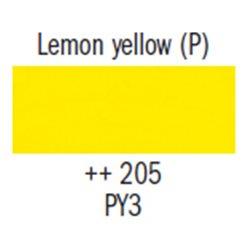 Гуашь худ. лимонная жёлтая
