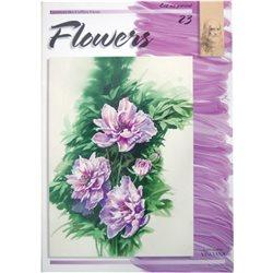 Цветы (на анг. яз.) Flowers LC 23