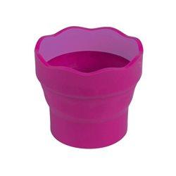 Стаканчик для воды CLIC&GO розовый