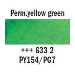 "Краска аквар.""Рембрандт"" / желто-зеленый перманент"
