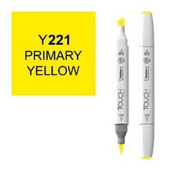 Маркер TOUCH BRUSH 221 желтый начальный Y221