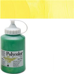 Краска акриловая Поликолор желтый лимонный