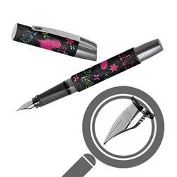 Перьевая ручка Campus Be Happy, перо М, для девочек