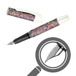 Перьевая ручка Campus/ перо 1,4 мм, Bamboo Flowers
