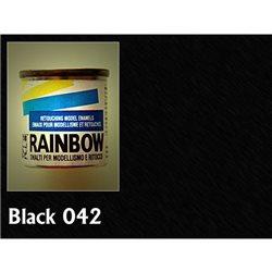 Rainbow матовая черный матовый, 17мл