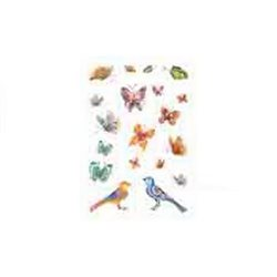 """Орнамент """"Бабочки и птицы"""""""