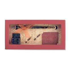Подарочн.набор с перьями и чернилами