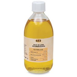 Льняное масло (полимеризованное) Maimeri/250мл