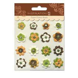 Брадс бумажные цветы мотив 09