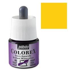 Желтый светлый/ Акварельная тушь Colorex, 45 мл