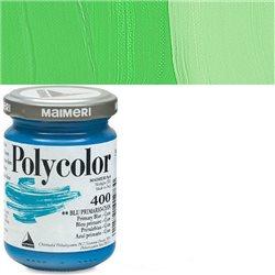 Краска акриловая Поликолор зеленый яркий светлый