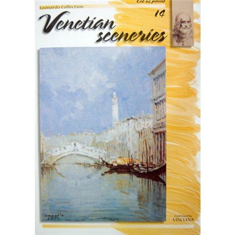 Венецианский пейзаж (на ан.яз.) Venetian Sceneries LC 14