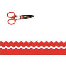 Ножницы фигурные. Волны