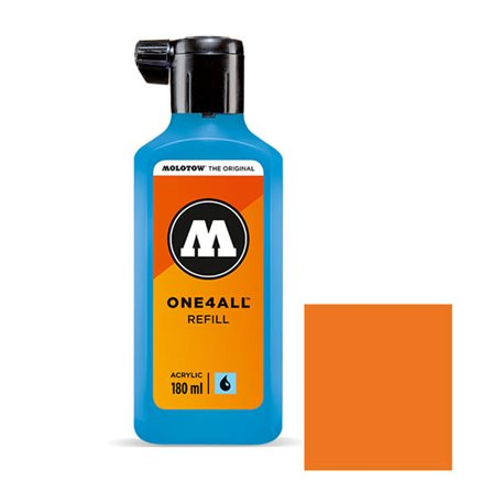 Заправка Molotow One4ALL 180 мл. Оранжевый