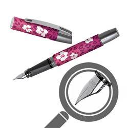 Перьевая ручка Campus Волшебный цветок, перо М, для девочек