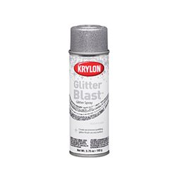 """Аэрозоль 3D """"GLITTER BLAST TM"""" Серебро 163г."""