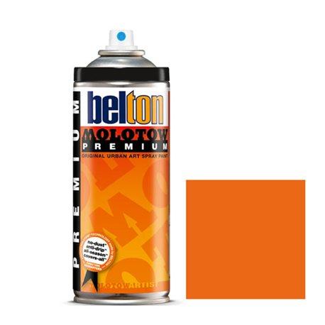 Аэрозоль Belton Molotow Premium 013 Светло-оранжевый 400 мл