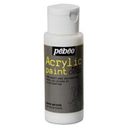 Лак с глиттер-эффектом для акрил. красок Pebeo PBO DECO