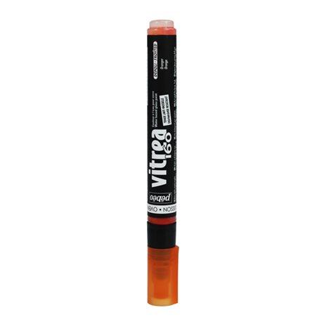Маркер по стеклу Pebeo Vitrea 160/Оранжевый иней
