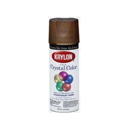 """Аэрозоль Цветной лак """"ACRYLIC CRYSTAL COLOR"""" коричневый"""