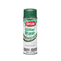 """Аэрозоль 3D """"GLITTER BLAST TM"""" Зеленый 163г."""