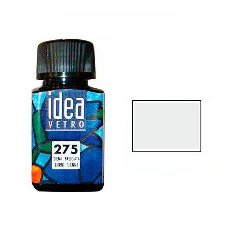 Краска лаковая по стеклу Idea Vetro/Белила