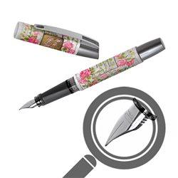 Перьевая ручка Campus II Романтичные розы, перо М, для девочек